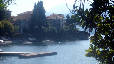 Mansions on Lake Como.