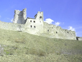 This fortress in Rakvere was built in the 12th century by the Livonian Knights during the Northern Crusade.