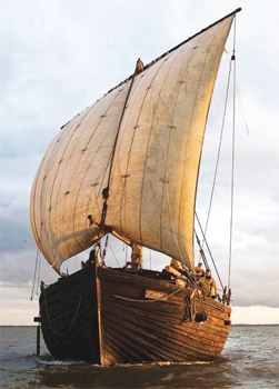 We took a cruise aboard the Jammu, a replica of the river barges that sailed from Estonia to the rivers of Russia