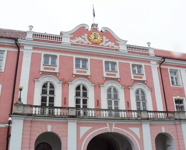 The Estonian Parliament Building