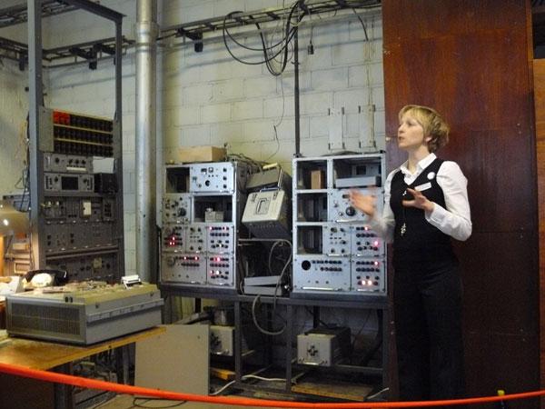 Surveillance equipment at the KGB Museum