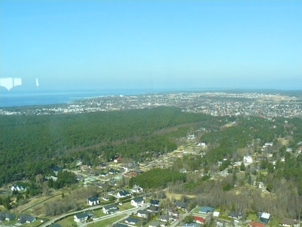 There are great views of the Bay of Tallinn and the surrounding countryside.
