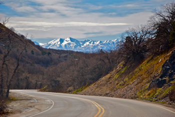 Cottonwood Canyon, Utah.