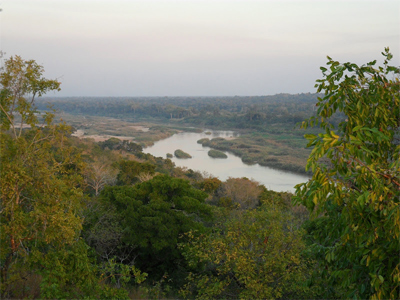 Gorongosa river delta.