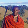 A member of the Maasai tribe in Kenya