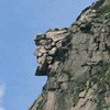 The Old Man of the Mountain in Franconia Notch, New Hampshire