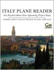 Italy Plane Reader Cover