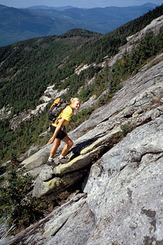 Rock and River Guide services offers kiking and mountain climbing trips guided by trained experts.