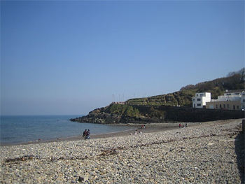 Beach at Bray, Ireland. photo by Mariel Kennison.