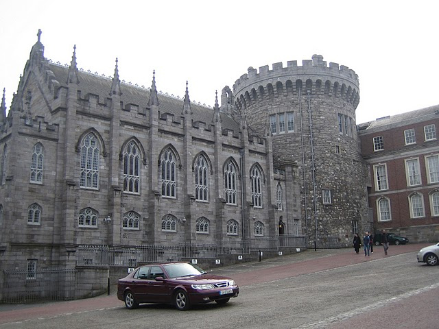 Dublin Castle. photo by Mariel Kennison.