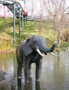 A Legoland elephant