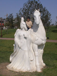 The Tang Dynasty Park in Xian
