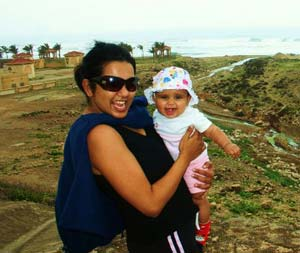 Oman with a baby: On the road to Mirbat