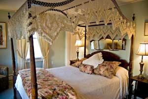The rooms at the inns are all unique and inviting.