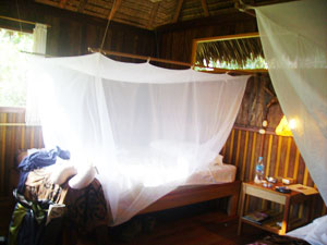 A room at the lodge