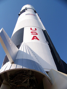 Saturn rocket at the U.S. Space and Rocket Center - photos by Tim Leffel