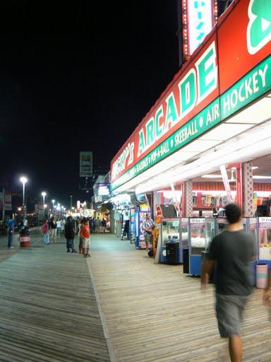 Boardwalk at Point Pleasant, NJ