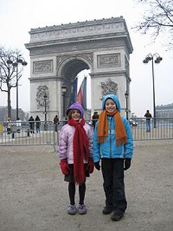 Paris in December---no crowds!
