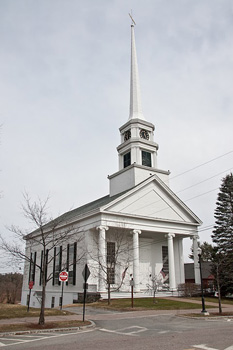The Stowe Community Church. Photos by Tom Bricker