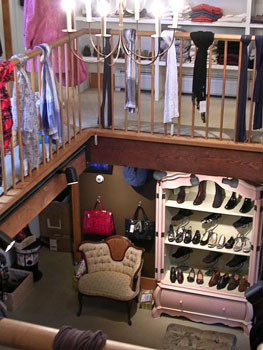 Well-Heeled sells exquisite shoes and accessories.