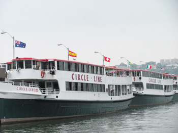 The 3-hour Circle Line cruise is a great way to get a different perspectiv?e of New York.