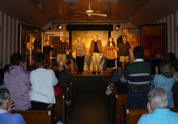 The cast of the Little Church Theater presentation of On Golden Pond