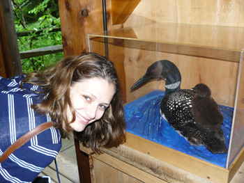 At the Squam Lakes Natural Science Center