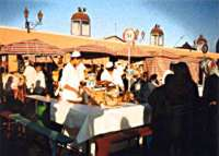 The Most Exotic Outdoor Cafe in the World: Marrakech's Jemaa el Fna