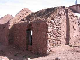 The outhouse where Butch and Sundance stayed is now a deserted building.