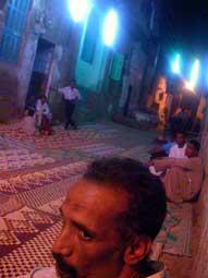 Party scene in Luxor