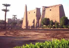 The Karnak temple, near Luxor