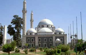 The Mosque of Khaled ibn Walid in Homs