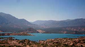 The scenery around Mendoza
