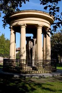 This shrine contains the symbolic oak tree of Gernika