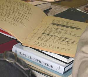 The original manuscripts of  poet Umberto Saba, Joyce's friend, are still kept at his Trieste bookstore.
