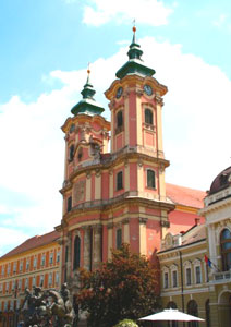 Downtown Eger