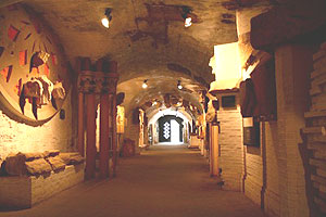 Tunnels in Eger