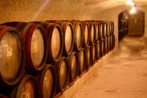 J?zsef's wine cellar