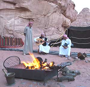 Jordan: Camping with the Bedouins
