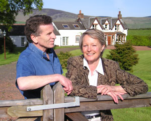 Peter and Lesley Gray of Scottish Ancestral Trail
