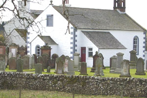 The church where Lynn's ancestors worshipped and were married