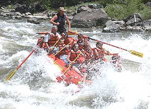 Rafting on the Colorado River - photo courtesy of Rock Gardens Rafting