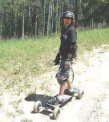The mountain board