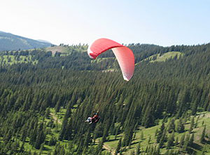 Paragliding in Aspen
