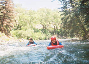 Whitewater sledging was brought to Colorado by New Zealanders.