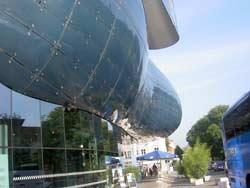 The Kunsthaus Graz: It's not a potato.