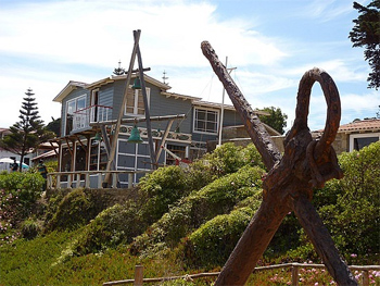 Pablo Neruda's house in Isla Negra, Chile. photo: travelpod.com