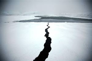 The ice fjord near Ilulissat, Greenland. photos by Paul Shoul.