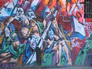 Graffiti art on the Lower East Side