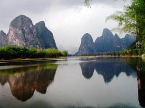 The hills of Yangshuo